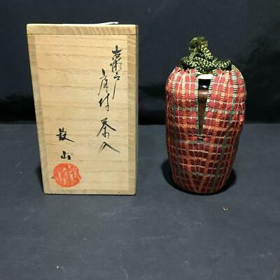 Tea Caddy Ceremony Chaire Sado Japanese Traditional Crafts t697