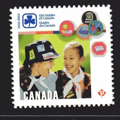 2010 Canada SC# 2402i - Girl Guides of Canada  - die cut from booklet M-NH