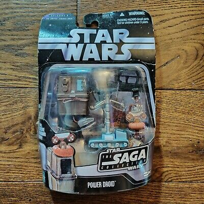 STAR WARS BLACK SAGA SERIES #014 BATTLE OF HOTH POWER DROID  FIGURE