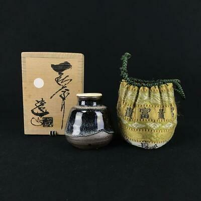 Tea Caddy Ceremony Chaire Sado Japanese Traditional Crafts t722