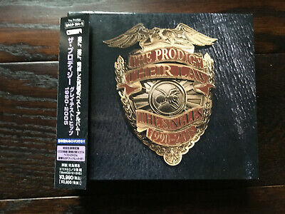 The Prodigy – Their Law - The Singles 1990-2005 Japanese double CD & DVD