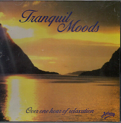 Tranquil Moods - Calm Relax Chill Soothing Unwind Serenity Yoga Meditation New