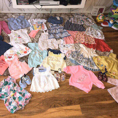BUNDLE BABY GIRLS CLOTHES 3-6 months Lots are BNWT 29 beautiful items in total