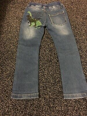 Next Dinosaur Jeans Excellent Condition Age 3-4
