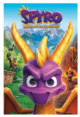 Spyro the Dragon Reignited Trilogy PS4 - Brand New