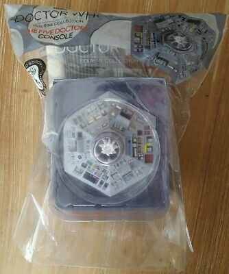 Eaglemoss - TARDIS console The Five Doctors - Doctor Who (BRAND NEW & SEALED)