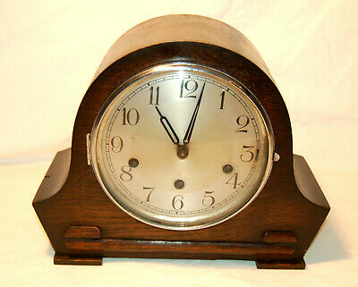 Haller German Westminster Mantle Clock Restored in good working order