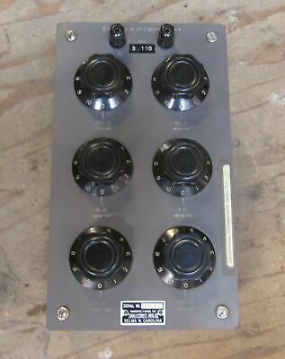 RARE! Shallcross 817-C Variable Resistance Box 0.01-1000 ohm, Working, USA Made