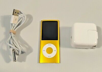 Apple A1285 iPod Nano 8GB Yellow 4th Generation MP3 Player