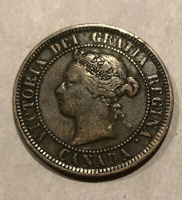 CANADA 1886 Large Cent