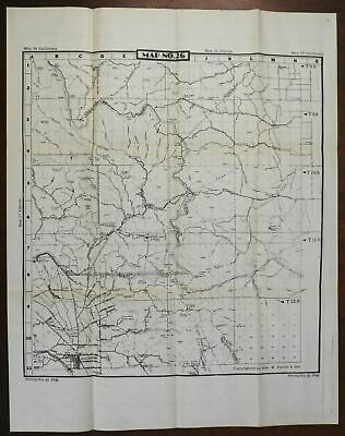 San Benito Valley California 1945-50 U.S. Geological Survey detailed map