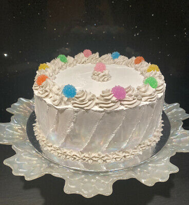 """Fake 8"""" Cake Artificial Food. Fake Candy Prop Shabby Chic Dresser Display"""