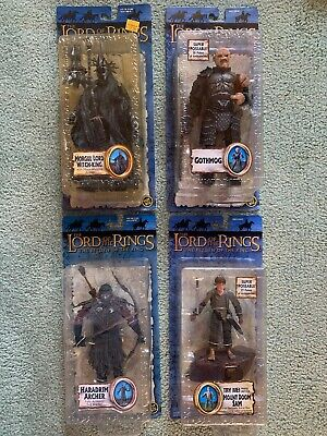 The Lord Of The Rings, The Return Of The King, 4 Toybiz Action Figures Lot 1