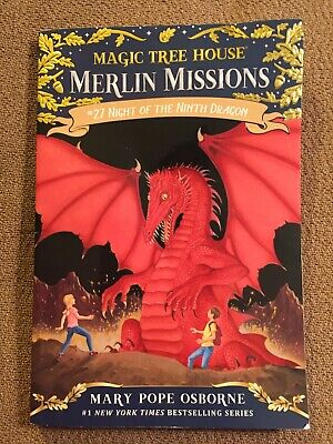 Night of the Ninth Dragon (Paperback or Softback)-New