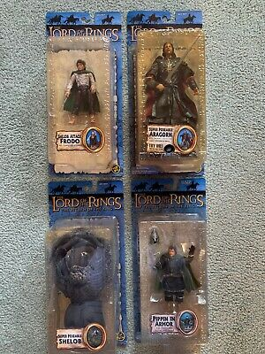 The Lord If The Rings, Return Of The King, 4 Toybiz Action Figures LOTR Lot 2
