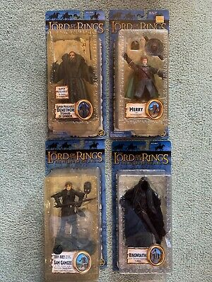 The Lord Of The Rings, Return Of The King, 4 Toybiz Action Figures LOTR Lot 3