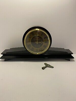 Vintage Vesna Mantle Clock Mase In USSR. Not Working