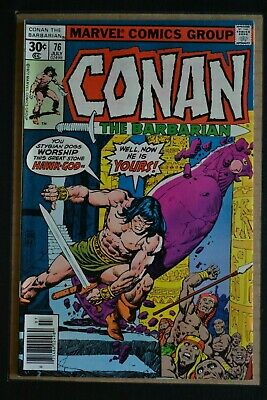 Conan The Barbarian  # 63 : Very Fine- : June 1976 : Marvel Comics.{Comic Books}