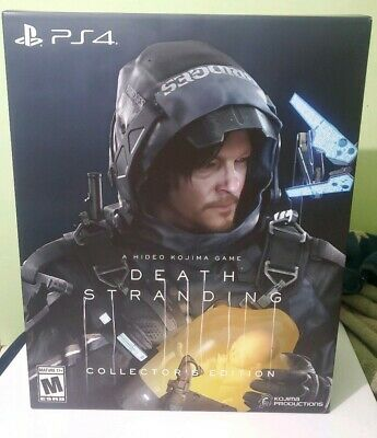 Death Stranding Collectors Edition COMPLETE US Seller Free Shipping