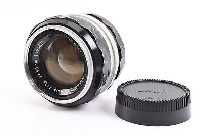 Nikon Nikkor-S Auto 50mm f/1.4 Non Ai Prime Lens with Rear Cap PLEASE READ RA13