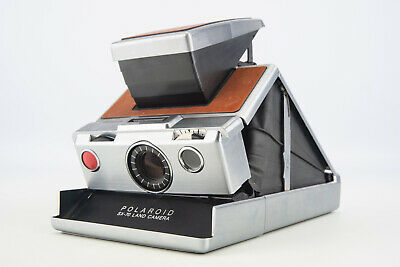 Vintage 1970's Polaroid SX-70 Alpha 1 Instant Film Land Camera PARTS REPAIR V02