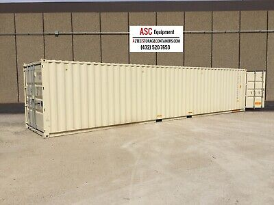40 Foot NEW  High Cube DD  Shipping Container, Cargo Container, Conex, Storage