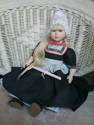 LISOLETTE  By Pauline Bjonness Jacobsen Porcelain Doll (post updated) REDUCED