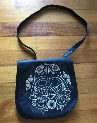 Great Loungefly  Darth Vader Satchel Bag  Simulated Leather VG Condition