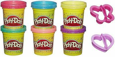 Play Doh Sparkle Compound Collection Cutters NEW