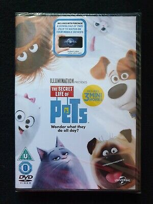 The Secret Life of Pets (DVD, 2015)