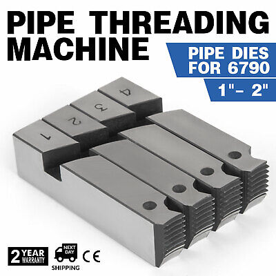 "1""- 2"" HSS Pipe Threading Cone Die Set Threader High Speed Steel"