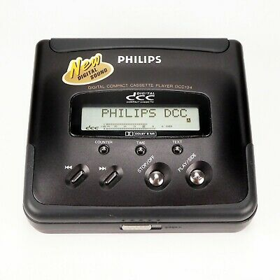 Philips DCC 134 Portable Digital Compact Cassette Player - New Belt - Like New