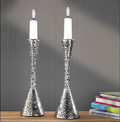 Pair of Silver Candlesticks - REDUCED