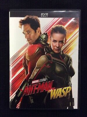 Ant-Man and The Wasp (DVD 2018) Free Shipping