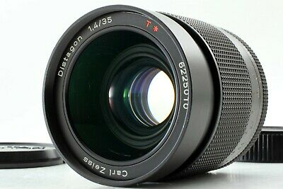 【EXC+5】 Contax Carl Zeiss Distagon T* 35mm F1.4 AEG For C/Y Mount From JAPAN 226