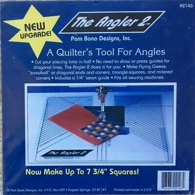 The Angler 2 #2146 A Quilter's Tool For Angles NIP