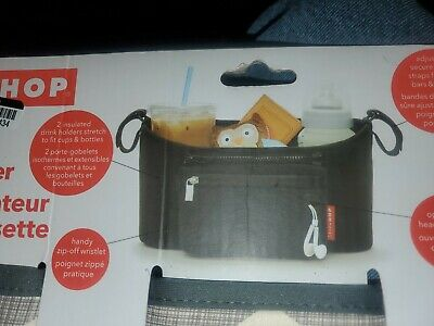 Skip Hop Grab and Go Stroller Organizer - New Chevron  See pictures