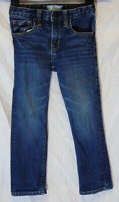 Boys Gap Mid Blue Whiskered Denim Adjustable Waist Skinny Fit Jeans Age 3 Years