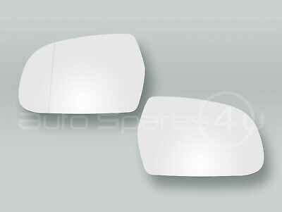 2011-2015 LEFT side Wing Heated Door Mirror Glass /& Backing Plate B8 AUDI A5