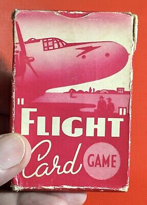 Original 1954 Pepys Card Game-Flight -In Good Condition See Photos