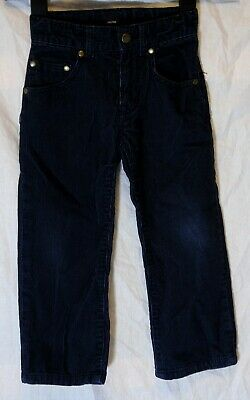 Boys Gap Dark Navy Blue Cord Adjustable Waist Relaxed Fit Jeans Age 4 Years
