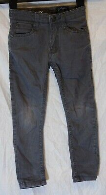 Boys Next Mid Grey Denim Adjustable Waist Skinny Fit Jeans Age 3 Years