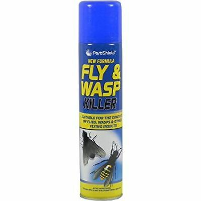 Fly Wasps Bee Insect Bug Killer Insecticide Fast Acting Spray Aerosol - 300ml