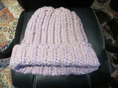 SIBLING MEN'S GIANT KNIT  PINK HAT  Please Kill Me Autumn Winter 2013 - SALE