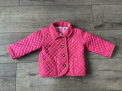 TRULY PINK Joules 207238 Quilted Jacket