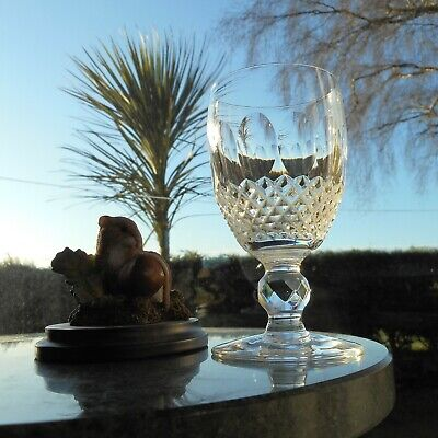 """Waterford Crystal COLLEEN 4 7/16"""" short stem  WINE glass OR glasses  (2nd)"""