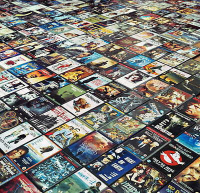 LOT Buy 20 DVD or BluRay Movies discs - pick any 20