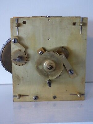 Antique chain fusee clock movement in working order.