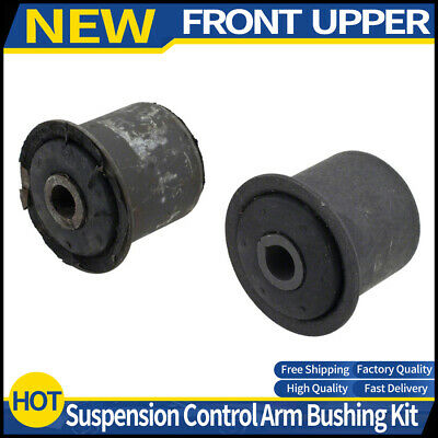 Pair Set 2 Front Lower Arm To Strut Control Arm Bushings Moog for Jeep Commander