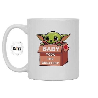 Personalised Star Wars Yoda Best  Love Mug Cup Gift Birthday Valentines